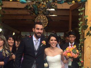 El matrimonio de Andrea  y Marcel