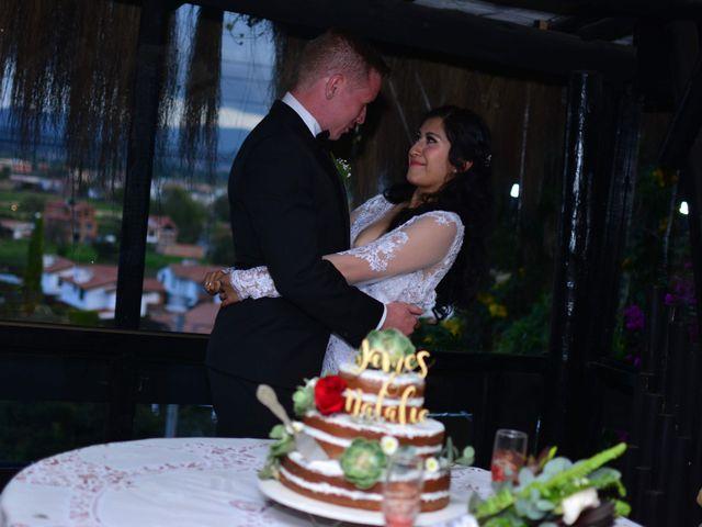 El matrimonio de James y Natalie