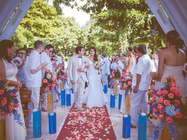 El matrimonio de Fabian y Dolly en Santa Marta, Magdalena 13
