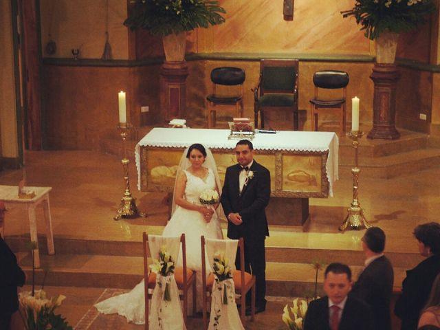 El matrimonio de Marcela  y Hugo