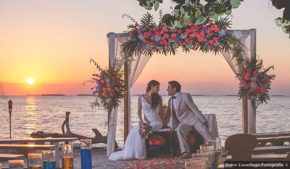 El matrimonio de Fabian y Dolly en Santa Marta, Magdalena