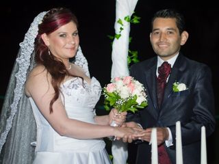El matrimonio de Diego León y Adriana