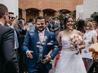 El matrimonio de Juan David y Gina