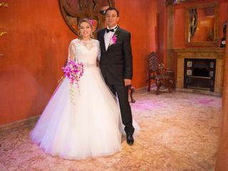 El matrimonio de Sandra y Fernando
