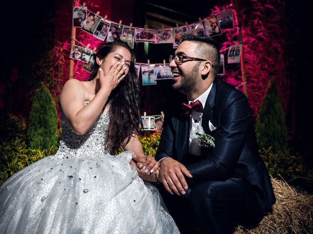 El matrimonio de Luz y Orlan