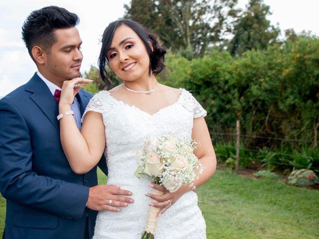 El matrimonio de Cristian y Alejandra