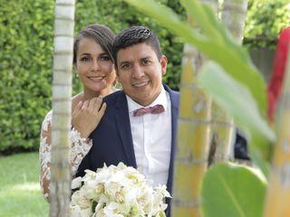 El matrimonio de Zuleima y Rafael