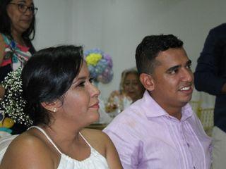 El matrimonio de Paola  y César
