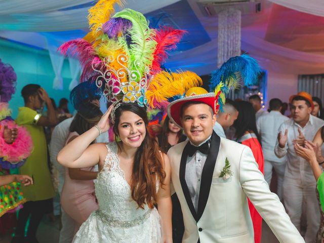 El matrimonio de Astrid y Oscar