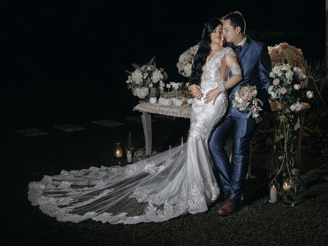 El matrimonio de Daniela y Andrés