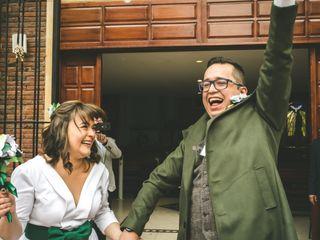 El matrimonio de Mónica y Alejandro
