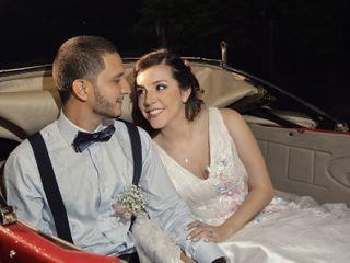 El matrimonio de Lina y Oscar