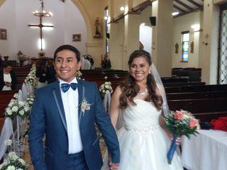 El matrimonio de Vanessa y Jairo