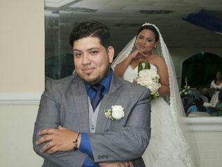 El matrimonio de Joelis y Hugo