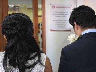 El matrimonio de Alvaro y Shirlys 1