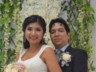 El matrimonio de Alvaro y Shirlys