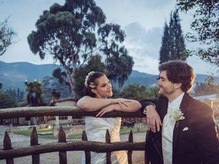 El matrimonio de Carolina Paredes y Dan Cross