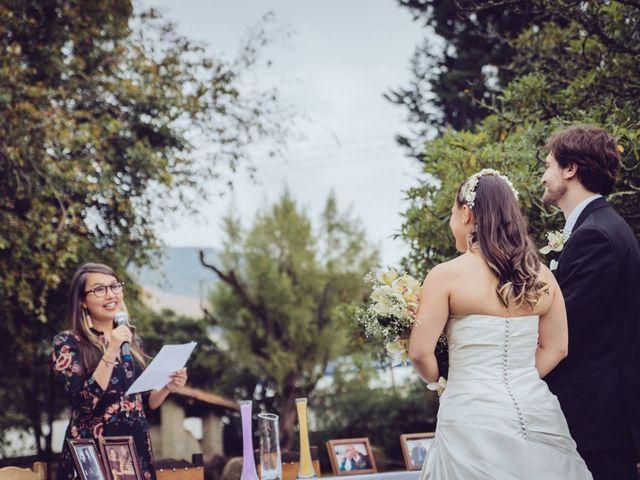 El matrimonio de Dan Cross y Carolina Paredes en Bogotá, Bogotá DC 77
