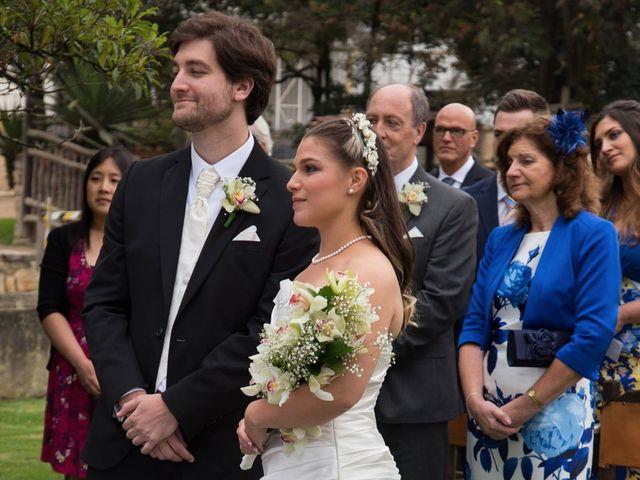 El matrimonio de Dan Cross y Carolina Paredes en Bogotá, Bogotá DC 78