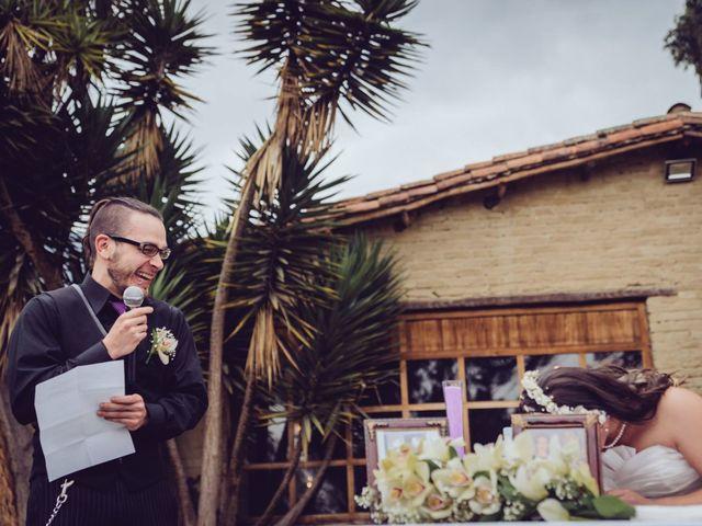 El matrimonio de Dan Cross y Carolina Paredes en Bogotá, Bogotá DC 87