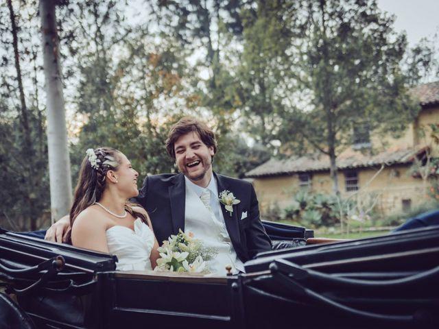 El matrimonio de Dan Cross y Carolina Paredes en Bogotá, Bogotá DC 1