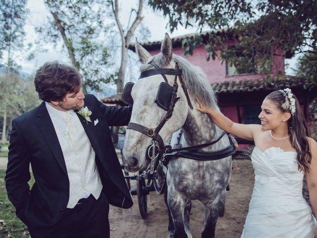 El matrimonio de Dan Cross y Carolina Paredes en Bogotá, Bogotá DC 130