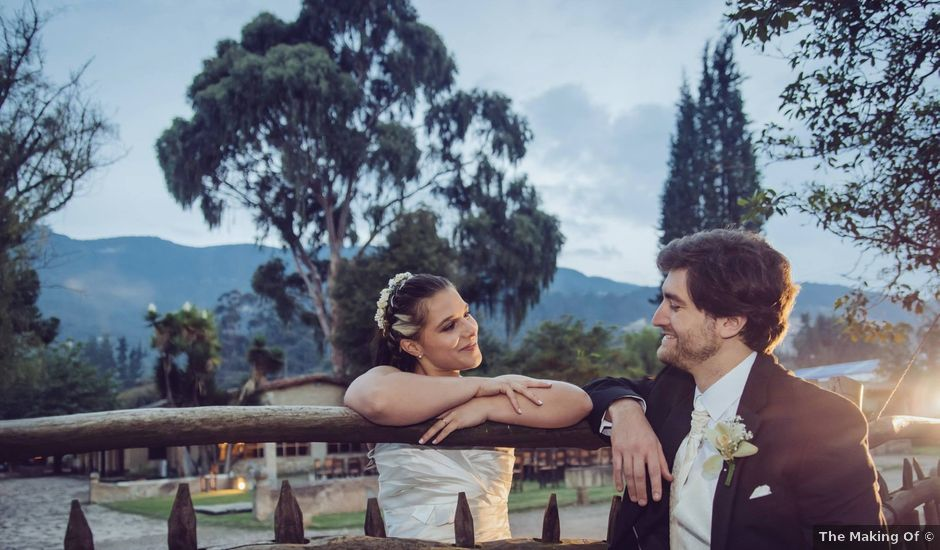El matrimonio de Dan Cross y Carolina Paredes en Bogotá, Bogotá DC