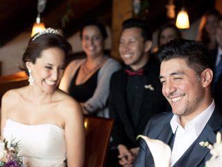 El matrimonio de Lisbeth y Carlos