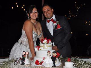 El matrimonio de Laura y Rodrigo