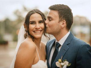 El matrimonio de María Fernanda y Andrés Felipe