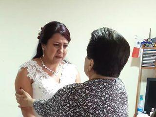 El matrimonio de Luz Caroline y Fautiber Andrés 2