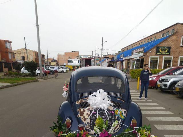El matrimonio de Fautiber Andrés y Luz Caroline en Funza, Cundinamarca 5