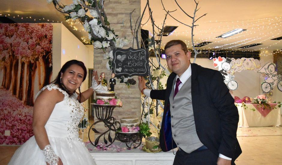 El matrimonio de Fautiber Andrés y Luz Caroline en Funza, Cundinamarca