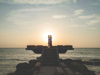 El matrimonio de Mariana y Fernando 1