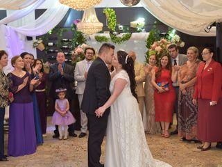 El matrimonio de Giovanna y Franky