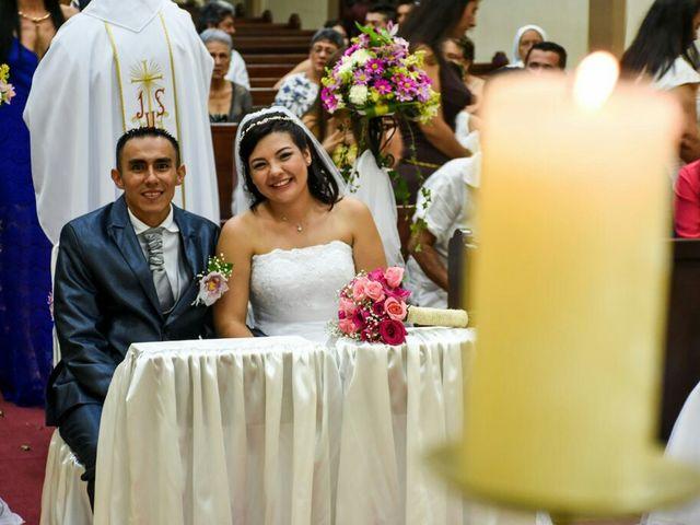 El matrimonio de William David y María Te en Piedecuesta, Santander 20