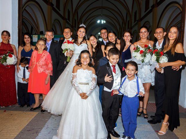 El matrimonio de Christian y July en Ibagué, Tolima 44