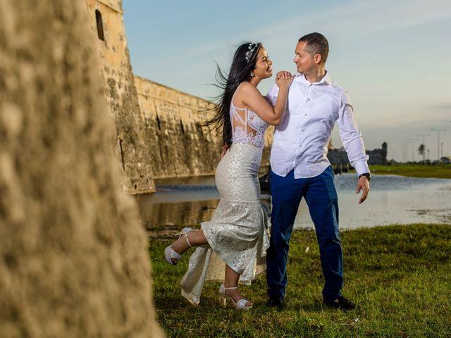 El matrimonio de Ricardo y Stefany en Cartagena, Bolívar 5