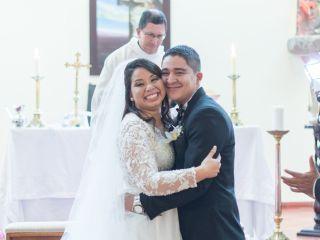 El matrimonio de Saskia y Andres