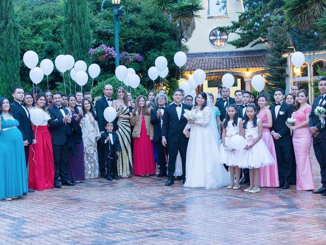 El matrimonio de Andres y Saskia en Bogotá, Bogotá DC 54