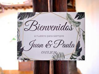 El matrimonio de Paula y Juan 1