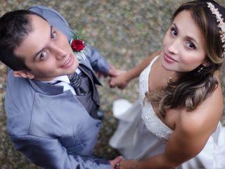 El matrimonio de Alexandra y David