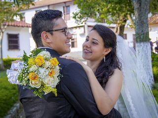 El matrimonio de Omar y Angie