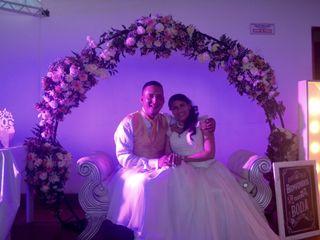 El matrimonio de Marcela y Jeffer