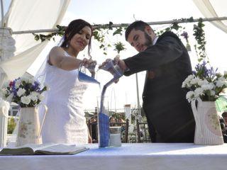 El matrimonio de Sandra y Felipe