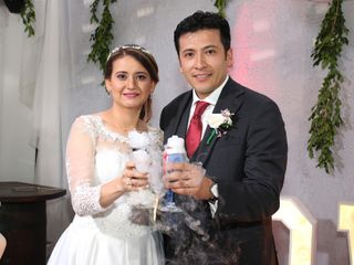 El matrimonio de Giselle y Javier