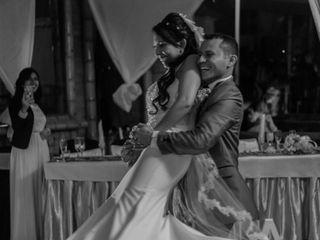 El matrimonio de Gineth y Arley
