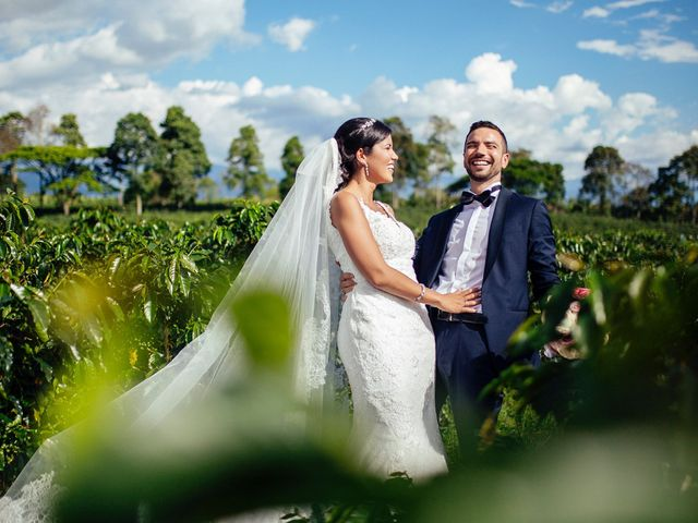 El matrimonio de Lina y Mickael