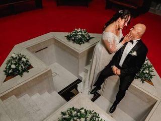 El matrimonio de Viviana  y Diego