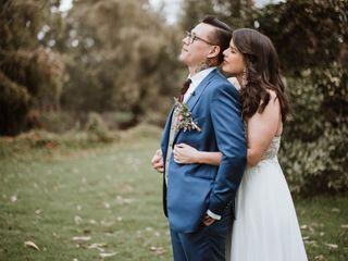 El matrimonio de Andrea y Pedro